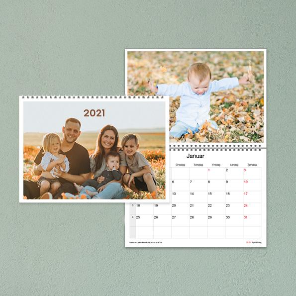 Fotokalender fra Fotofix, kalender med bilder