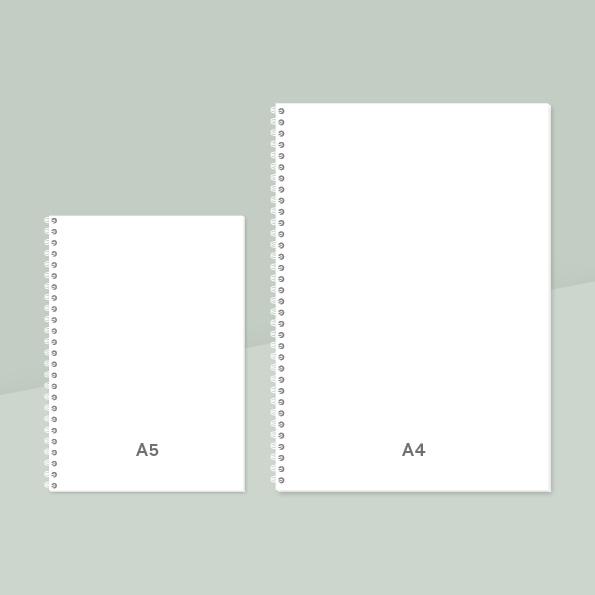 Notatbok, personlig notatbok, notatbok med bilder, fotofix, design notatbok