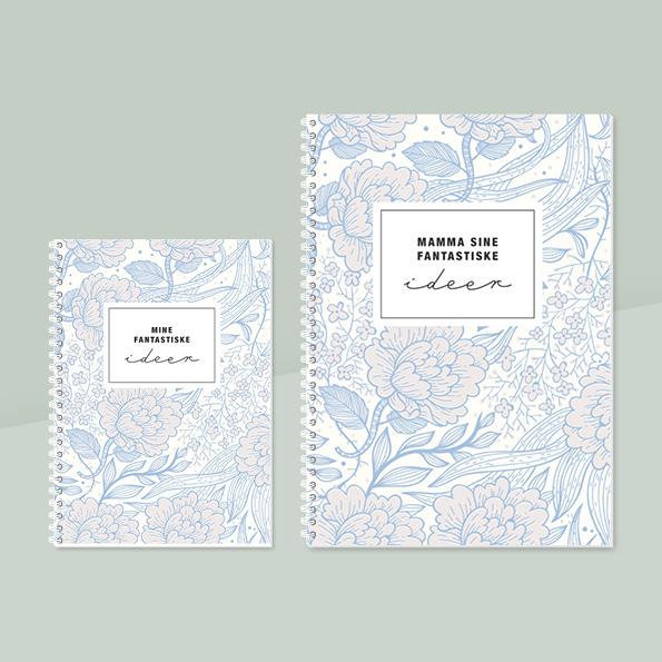 Notatbok, personlig notatbok, fotofix
